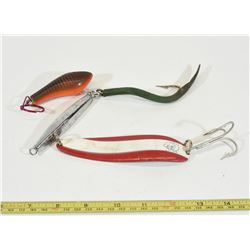Large Fish Lures and Floating Key Fob