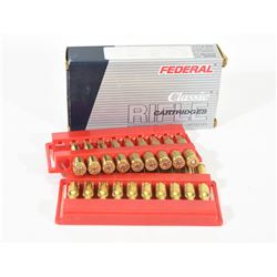 19 Rounds 6.5x55 Federal Ammo