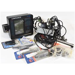 Lowrance X-60 Fish Finder & More