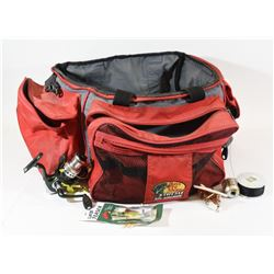 Large Soft Tackle Bag with Assorted Tackle