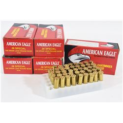 244 Rounds American Eagle Factory 38 Spl