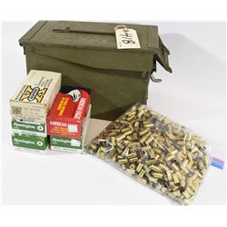 Ammo and Brass in Ammo Can