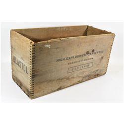 C.I.L. High Explosives Transport Box