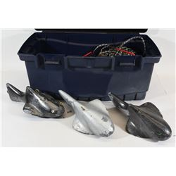 Tackle Box with Boating/Fishing Supplies
