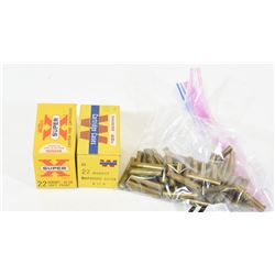 22 Hornet Brass