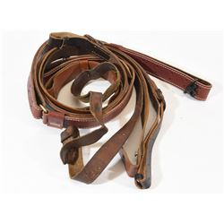Four Leather Slings