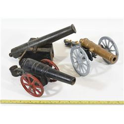 Vintage Toy Cannons