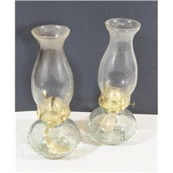 Two Glass Lanterns