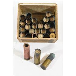Brass Vintage 10 Ga. Brass Shotgun Shells
