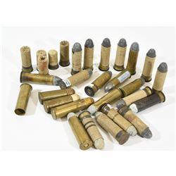 577 Snider Ammunition, Brass, Shot, and Blanks