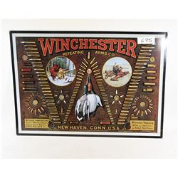 Winchester Ammo Tin Plaque & Goose Print
