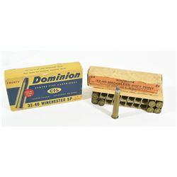 Vintage 32-40 Ammo