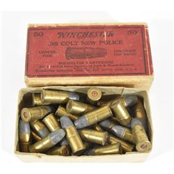 Vintage Winchester .38 Colt New Police Ammo
