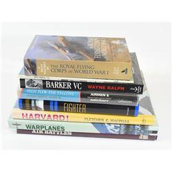 Box Lot Aviation Books