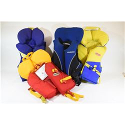 Box Lot Life Jackets