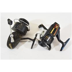 Mitchell 330 and Zebco 304 Fishing Reels