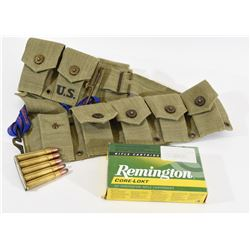 60 Rnds 8mm Mauser and Bandolier