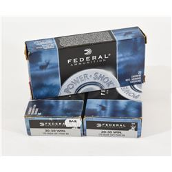 57 Rounds Federal 30-30 Win 150grn & 170 grn