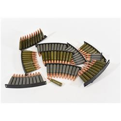 101 Rounds 7.62 x 39 on Stripper Clips