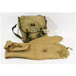 Canvas Gun Case & Parklands Backpack