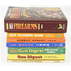 Box Lot Firearms Books