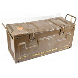 Metal Mortar Ammo Crate