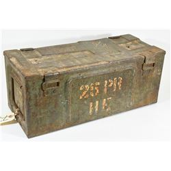 P59 Metal Ammo Crate From 1945