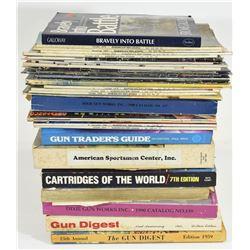 Box Lot Gun and War Books