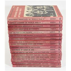 The Military History of WWII 18 Volume Book Series