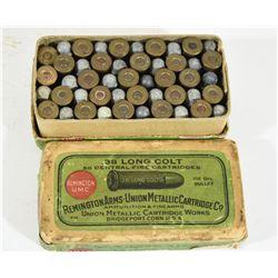 Vintage 38 Long Colt Ammo