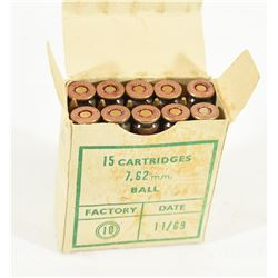 15 Rounds Century Arms 7.62 Nato (308 Win) Ammo