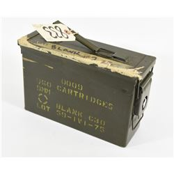 9mm Blanks Ammo Can
