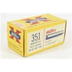 50 Rounds 351 Win Self Loading Ammo