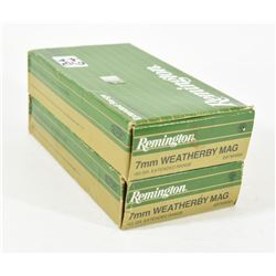 7mm Weatherby Mag. Ammo