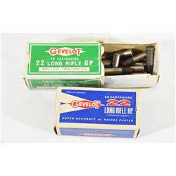 65 Rounds Gevelot 22LR Ammunition