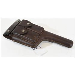 Leather Broomhandle Mauser Holster