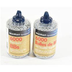 Beeman BB's