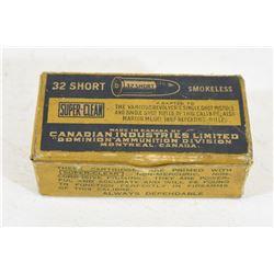 CIL 32 Short Ammunition