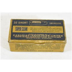 CIL 32 Short Ammunition