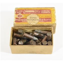 CIL Dominion 22LR Lesmock Powder Ammunition