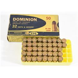 CIL Dominion 32 S&W Ammunition