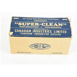 500 Round Brick of CIL Super-Clean 22LR