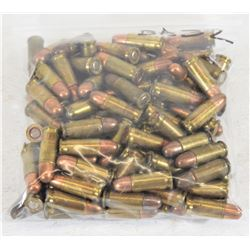 100 Rounds 25 Auto Ammunition