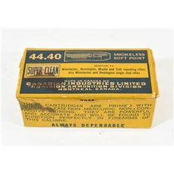 Vintage 44-40 Ammo