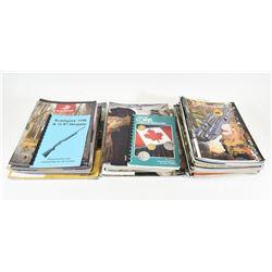 Box Lot Gun Magazines and Catalogues