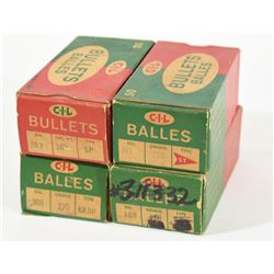 Various Sized Bullets