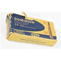 Dominion 30-30 Win Ammunition