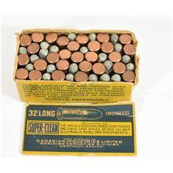 Vintage 32 Long Rim Fire Ammo