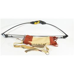 Barnett Lil' Banshee Youth Bow with Leather Quiver
