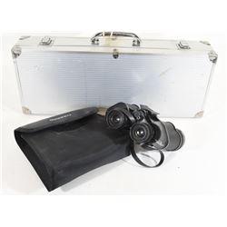 Metal Storage Case and Binocular
